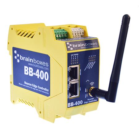 bb 400 neuron industrial edge controller 8 x i o serial port