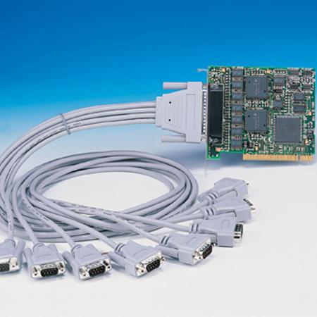 cc 279 pci lynx 8 port rs232 8x9 pin