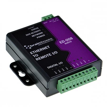 ED-038 BRAINBOXES ED-038 Brainboxes ED-038 Ethernet to Digital IO Relay