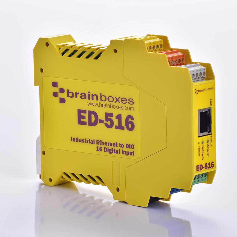 BRAINBOXES LTD Brainboxes Ltd Ed-516 Ethernet to 16 Digital Inputs