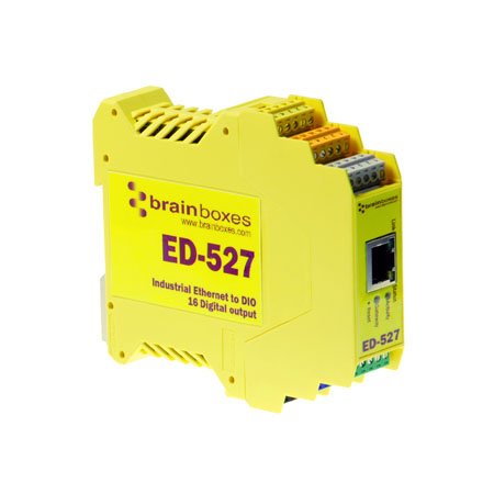 ed 527 ethernet to 16 digital outputs