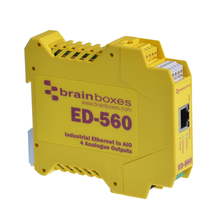 ed 560 ethernet to 4 analogue output