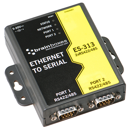 2 Port Rs422 485 Ethernet To Serial Adapter Es 313