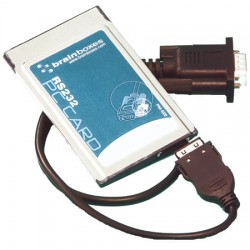 PCMCIA to RS232 and RS422/485 Serial Adapters