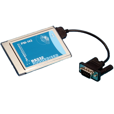 1 Port Rs232 Pcmcia With Ruggedised Integrated Cable Pm