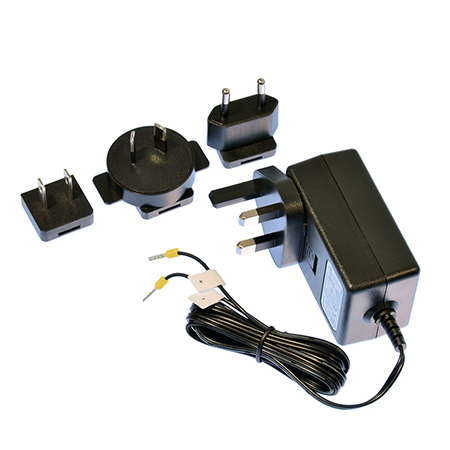 pw 400 power adapter 12v 1 5a terminal tails uk eu us aus pack