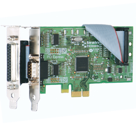PCI-E ACS to COM /& RS232 Expansion Ports Cards Serial and Parallel Port  V