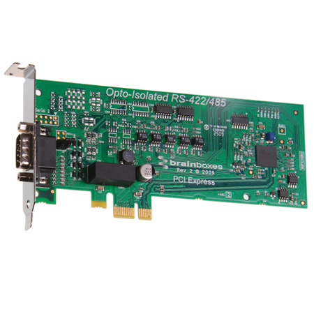 1 port rs422 485 low profile pci express serial card opto isolated px 376 brainboxes - Bluetooth low energy serial port profile ...
