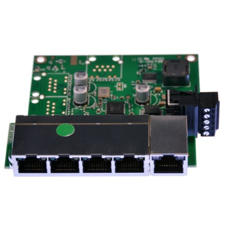 Industrial Embeddable 5 Port Ethernet Switch Sw 105