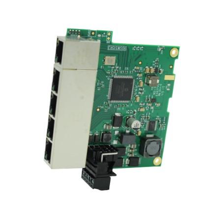 Industrial Embeddable Gigabit Ethernet 5 Port Switch =