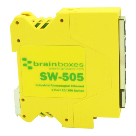 sw 505 compact industrial 5 port 10 100 ethernet switch