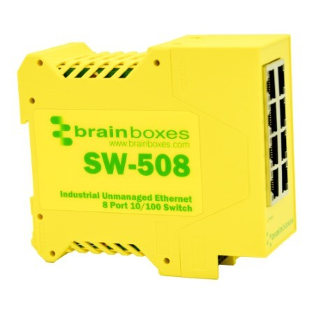sw 508 industrial 8 port 10 100 ethernet switch