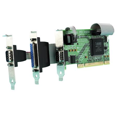 uc 203 lp upci 1 1xrs232 1xlpt printer port