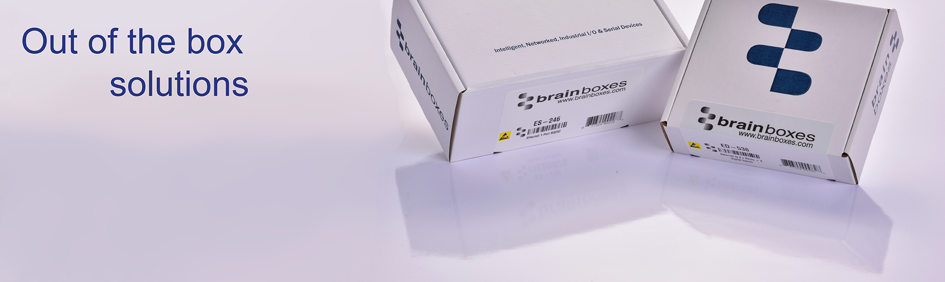 Brainboxes Out of the box solutions