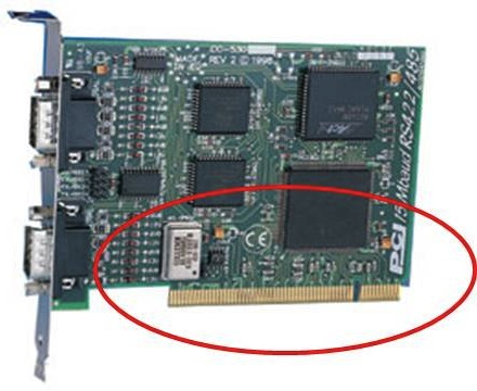 PCI slot has 1 key way and compatible with only 5V PCI slot