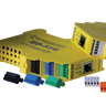 Brainboxes' Easy Wire Terminal Blocks: colour coded and numbered