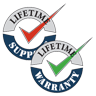 Lifetime Warranty and Support