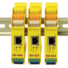 The Ethernet to DIO devices are just 22.6mm wide