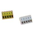Individually numbered screw terminal blocks