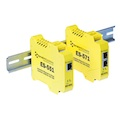 Industrial Ethernet to serial devices have smart ethernet magjacks for auto MDI/MDIX